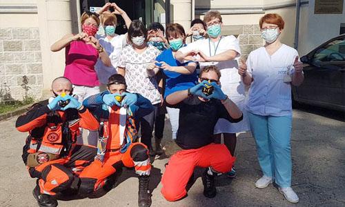 #pokonamyCOVID MTB Medica pomaga w czasie epidemii