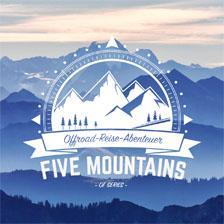 logo Five Mountains
